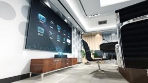 sala konferencyjna - ekrany